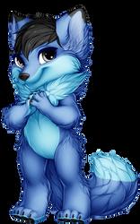 The Blue Fox Furvilla Paintie Version 2.0