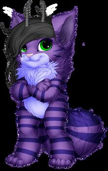 Lavander Kitty Furvilla Paintie Version 2.0