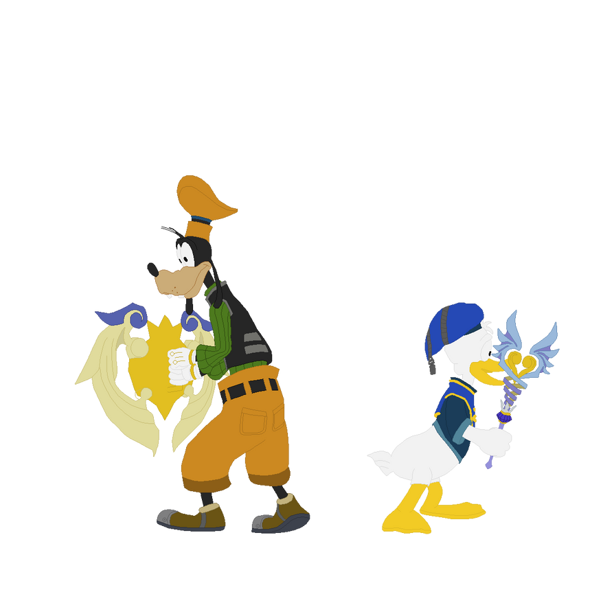 Vector - Donald And Goofy by BlueFoxThom
