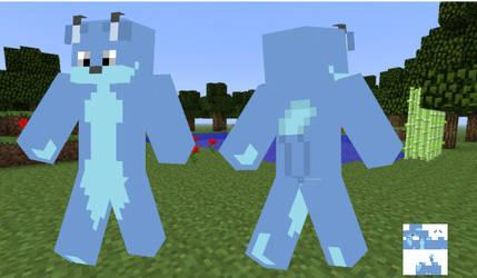 The Blue Fox Minecraft Skin
