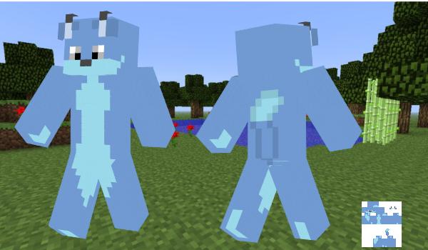 The Blue Fox Minecraft Skin by BlueFoxThom