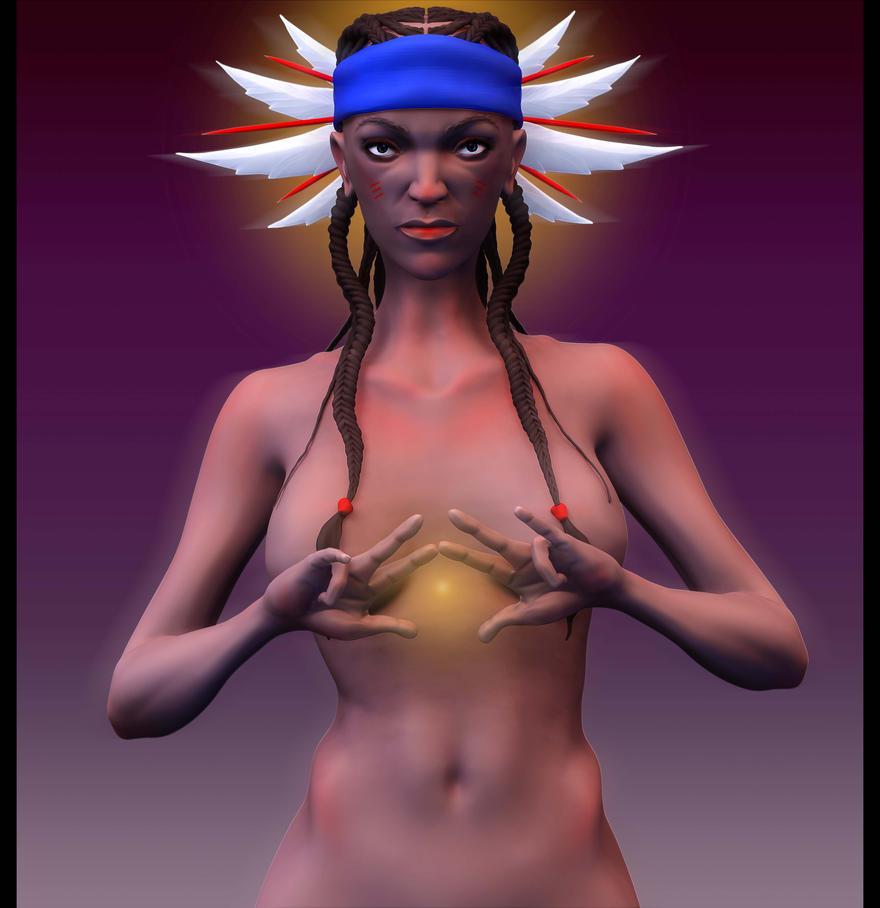 Tatyana _ Forest Guardian Spirit Talker by oasota