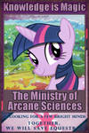 [Poster] FoE:The Ministry of Arcane Sciences