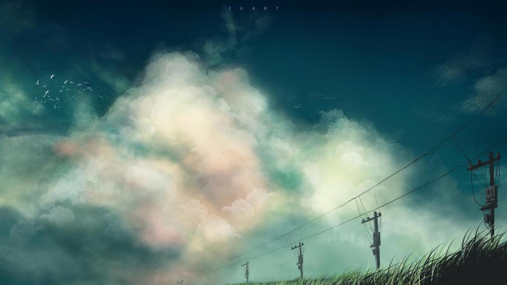 Dream sky by ZugiGraffiti