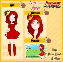 NLO - Ficha Apfel -Princesa Manzana- by RingoTeam