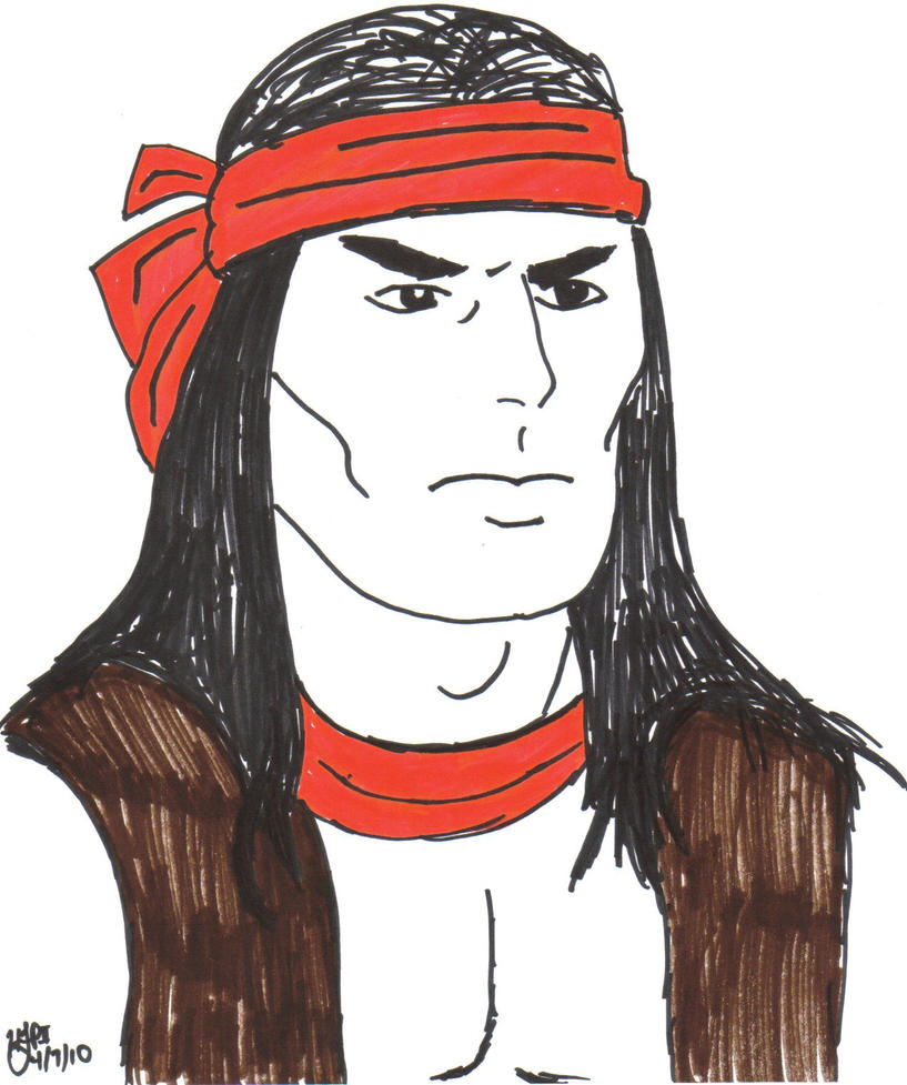 Apache Chief by Derfs-Domain
