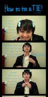 How to tie a tie - Rin Okumura