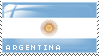 Argentina Stamp by ViciousBlue