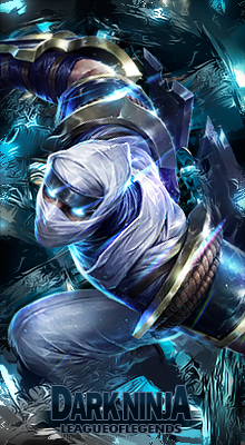 League of Legends Zed Signature by ViciousBlue