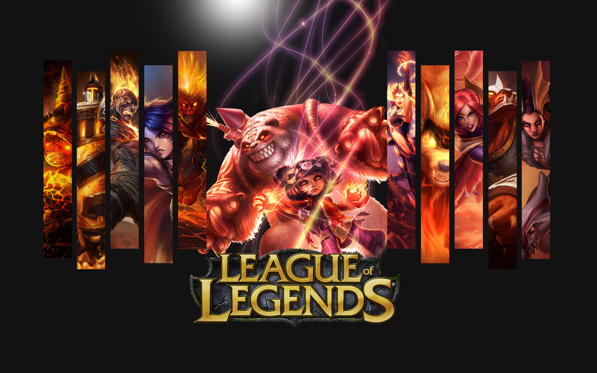 League of legends wallpaper pack - Annie League Of Legends Wallpaper By Viciousblue