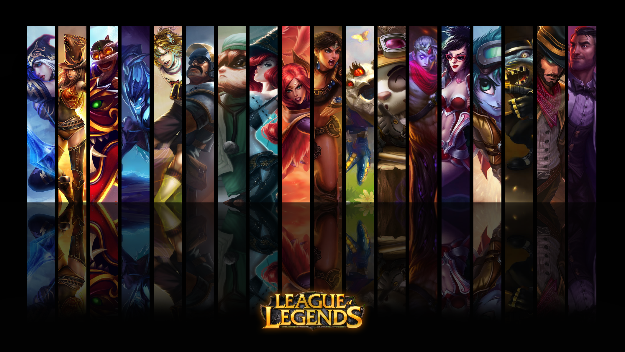 Wallpaper AD Carry League of Legends by ViciousBlue on ...