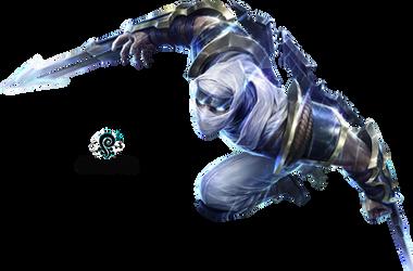 League of Legends Zed Render by VBTachi