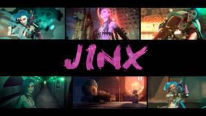 Wallpaper Jinx League of Legends