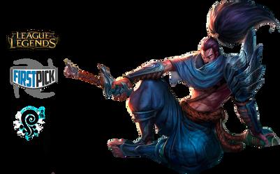 Yasuo League of Legends Render by VBTachi