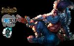 Yasuo League of Legends Render