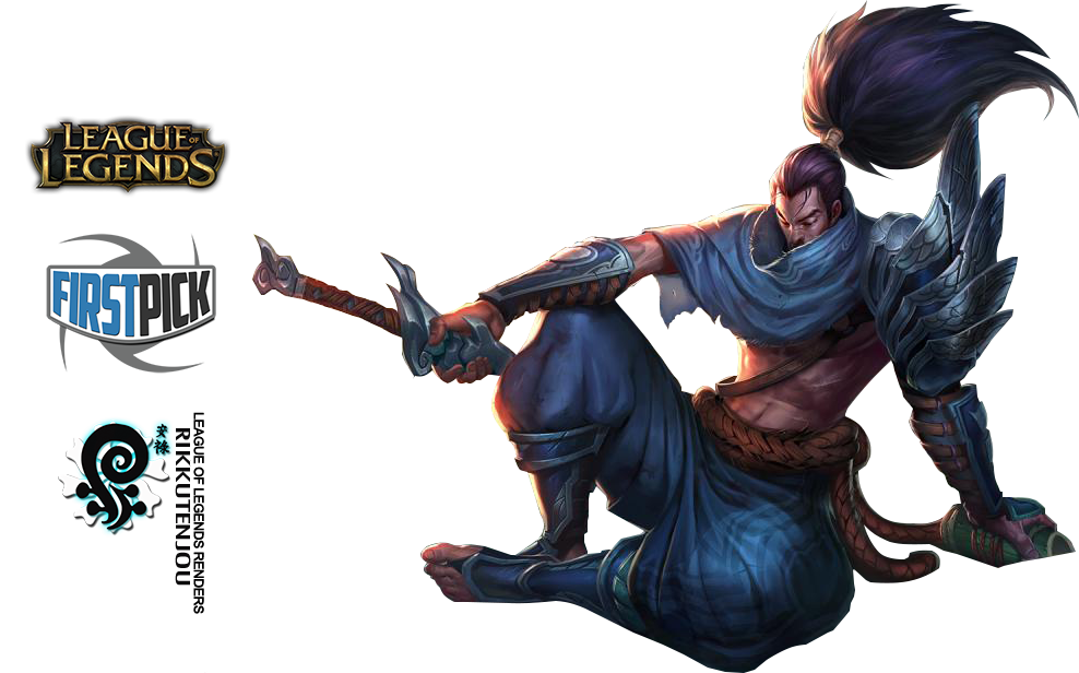 Yasuo League Of Legends Render By ViciousBlue