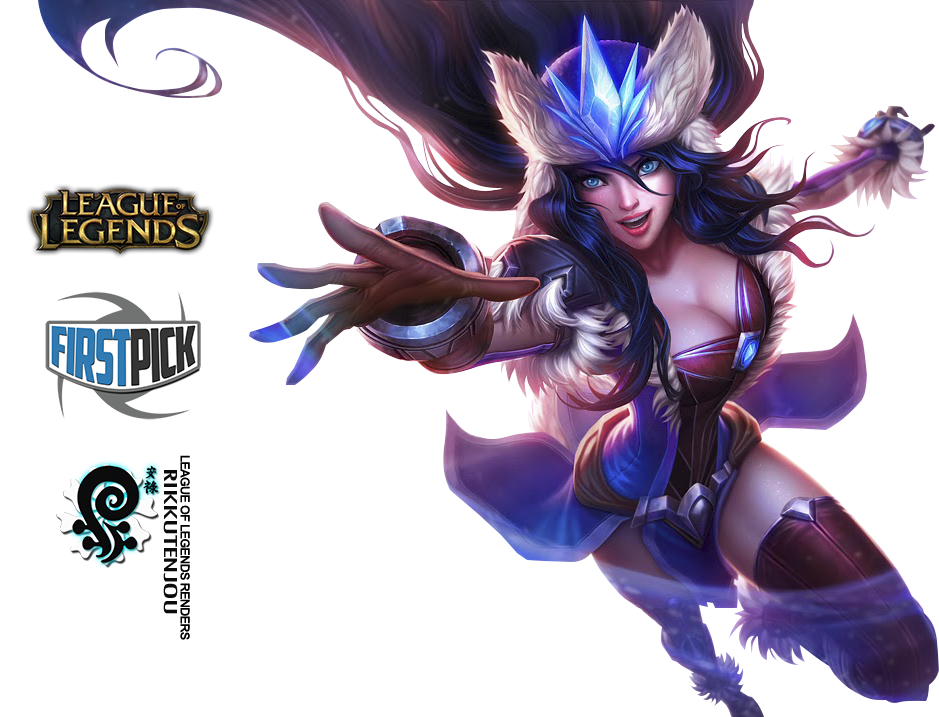 Snowstorm Sivir Render League of Legends by ViciousBlue