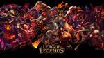 League of Legends Red Wallpaper by VBTachi
