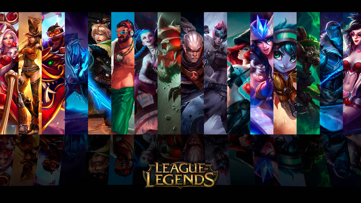 Adc Wallpaper Userbar Style League Of Legends By Vbtachi On