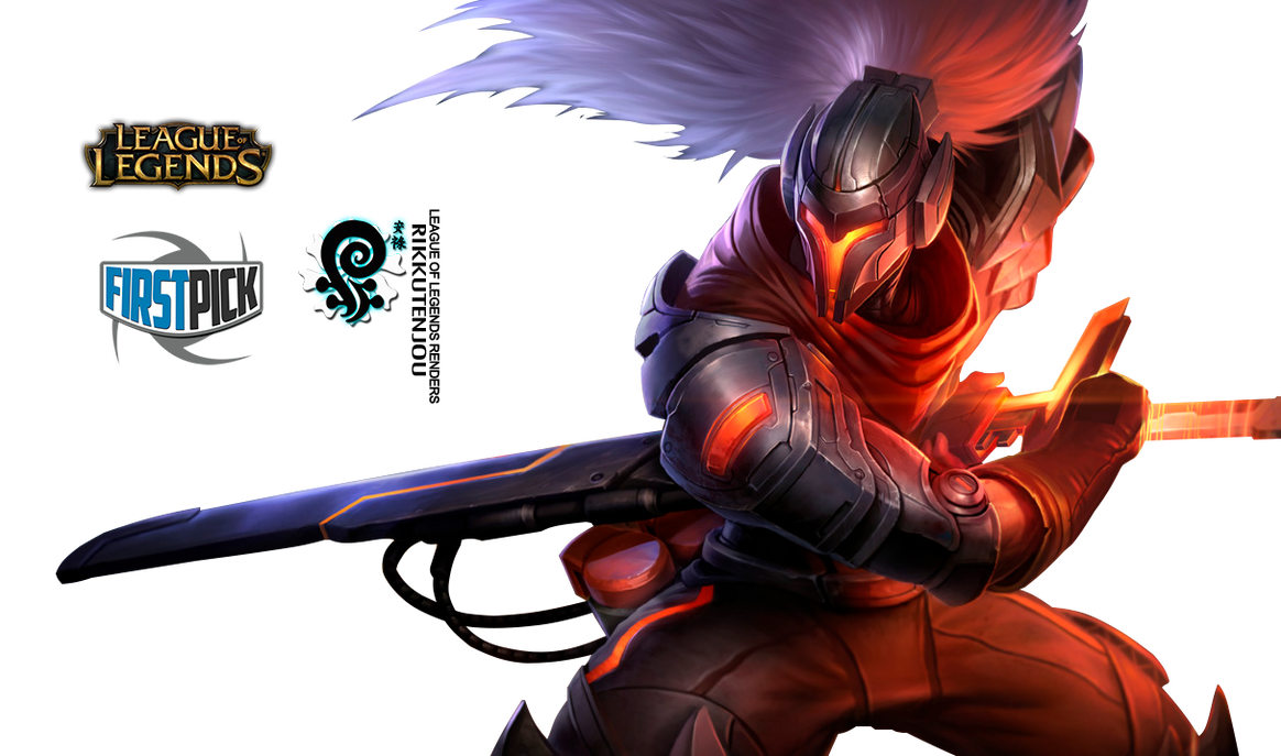PROJECT  Yasuo League of Legends Render by ViciousBlueYasuo League Of Legends