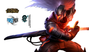 PROJECT: Yasuo League of Legends Render