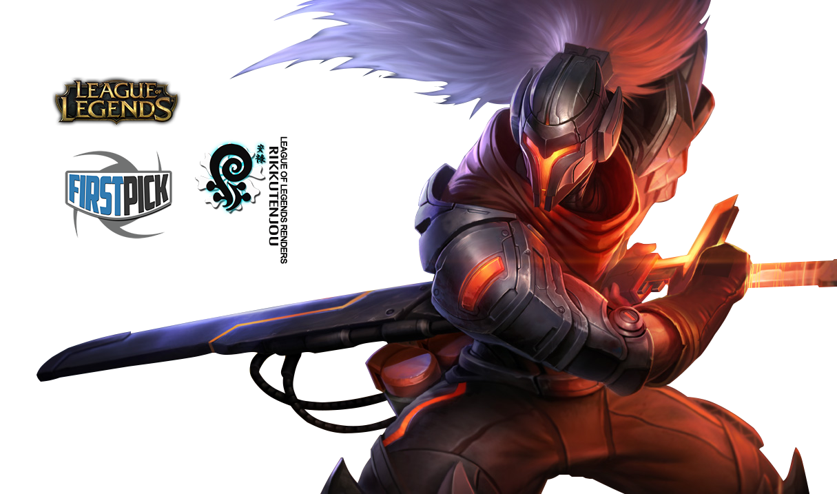 PROJECT: Yasuo League of Legends Render by ViciousBlue on ...