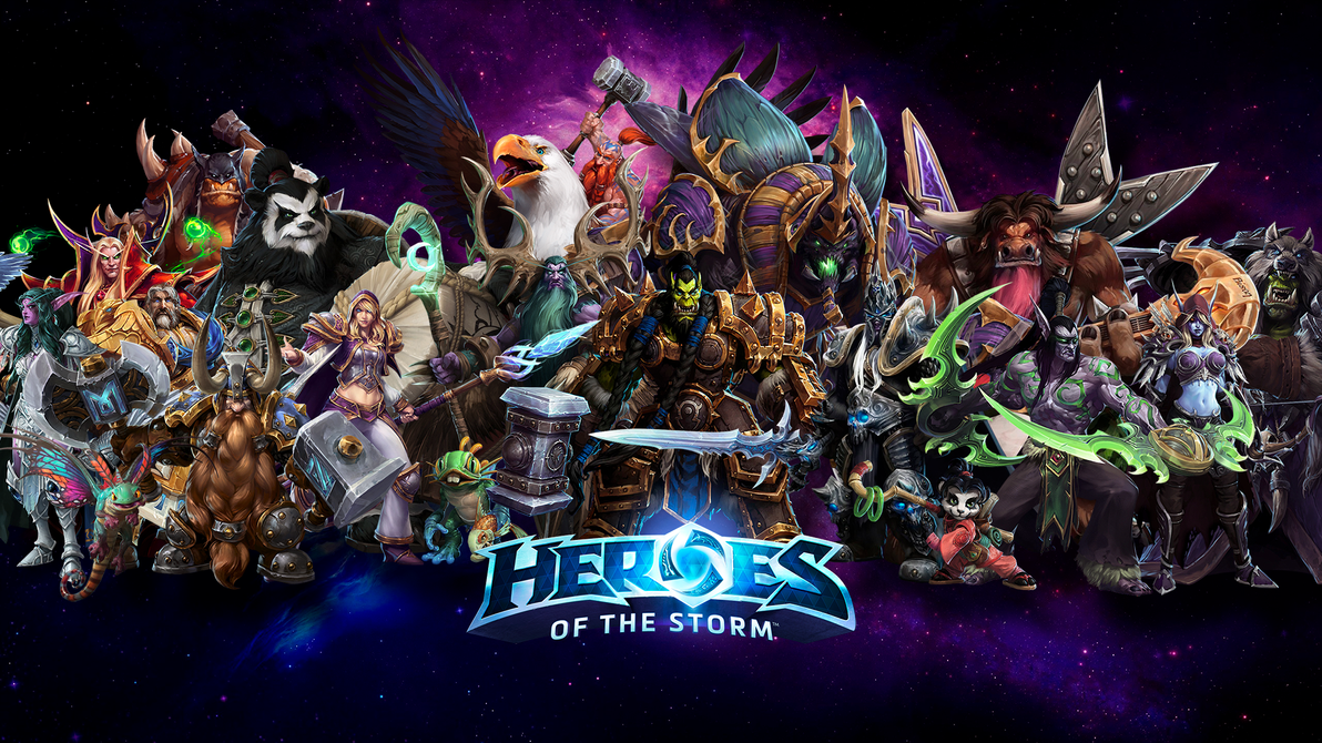 Heroes Of The Storm Wallpaper WOW Champs By ViciousBlue