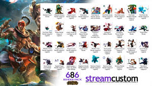 League of Legends Render MegaPack (686 Renders)