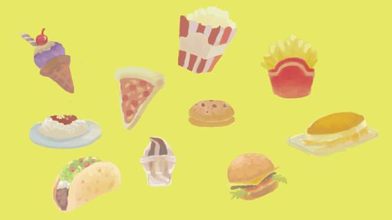 Food Illustration by riyoko07