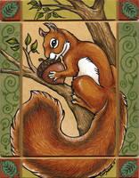 Squirrel for Mystee by XianJaguar