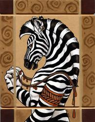 Zebra Totem