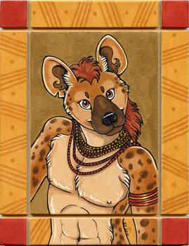 Spotted Hyena Totem