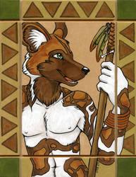 African Wild Dog Totem