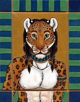 African Leopard Totem