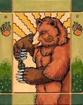 Bear's Earth Amulet