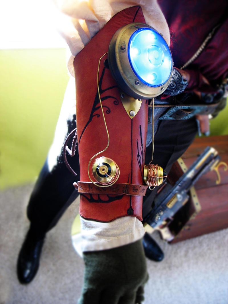 Tesla Bracer by Vile-Victorian