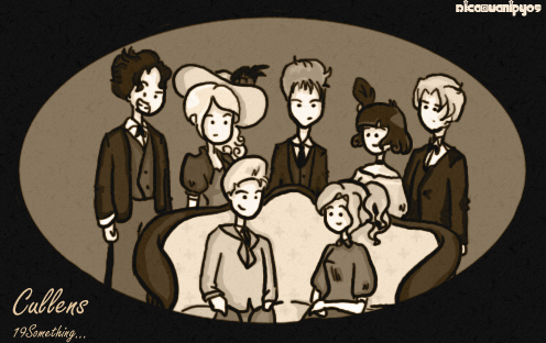 The Cullens in the Old times by vanipy05