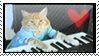 Keyboard cat Stamp by vanipy05