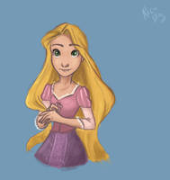 The girl with the magic hair.. by vanipy05
