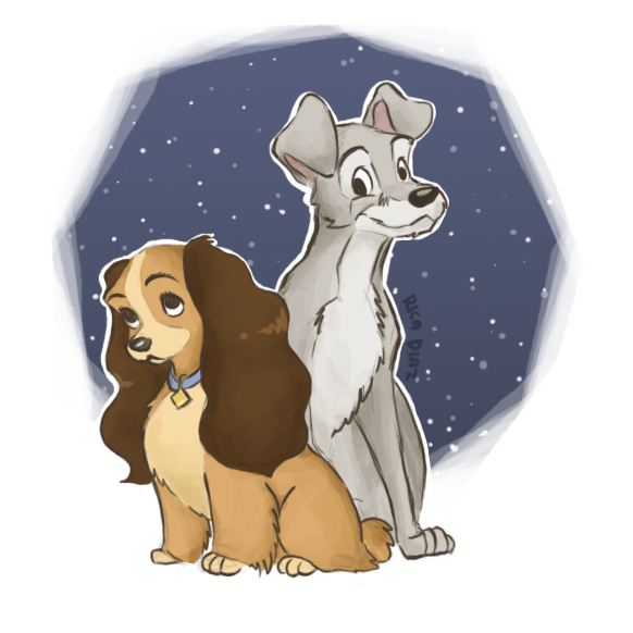 Lady And The Tramp By Vanipy05 On Deviantart
