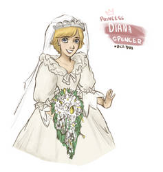 Princess Diana of Wales by vanipy05