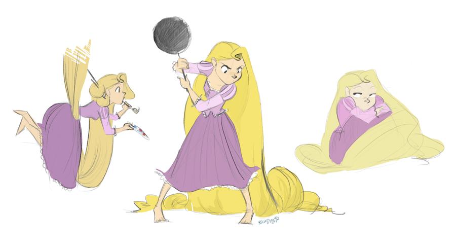Rapunzel, Rapunzel by vanipy05