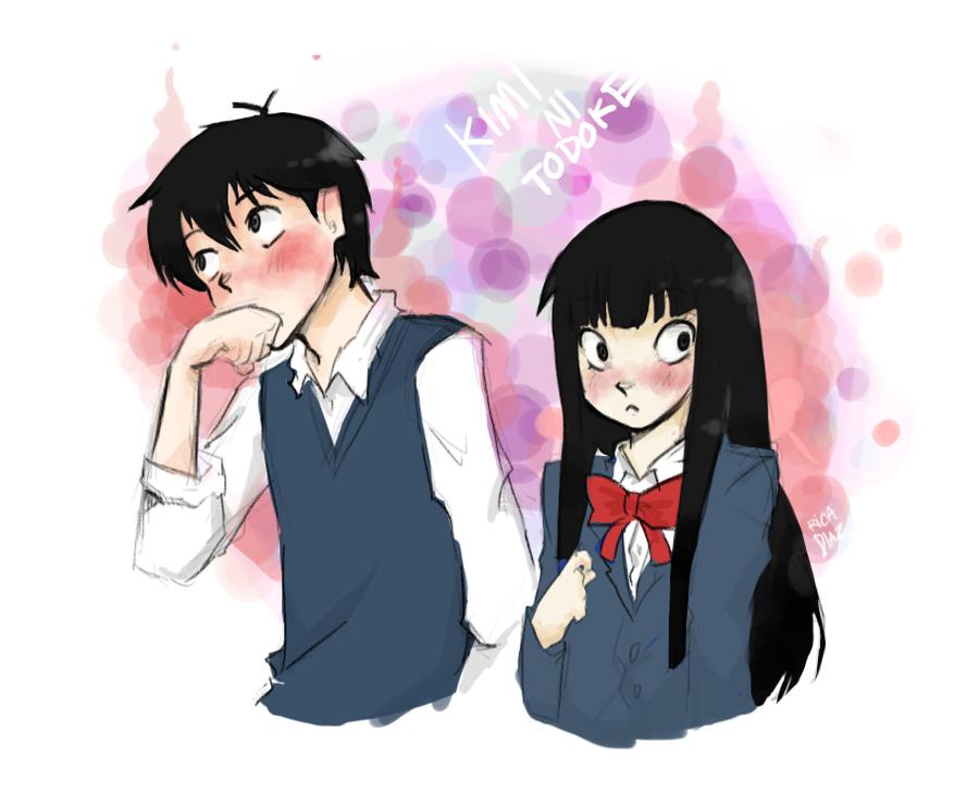 kimi ni todoke sawako and kazehaya kiss foto bugil bokep