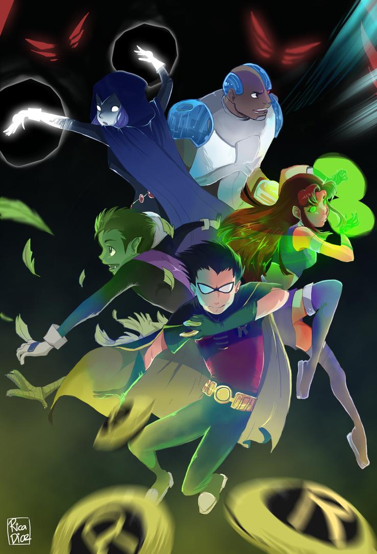 Titans GO! by vanipy05