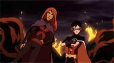 Miss Martian and Robin