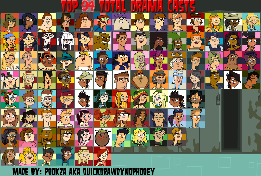 My Ultimate Total Drama Character Rankings List By