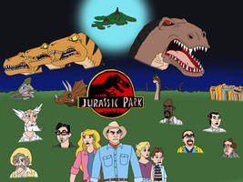 Jurassic Park: Disney/Non-disney style