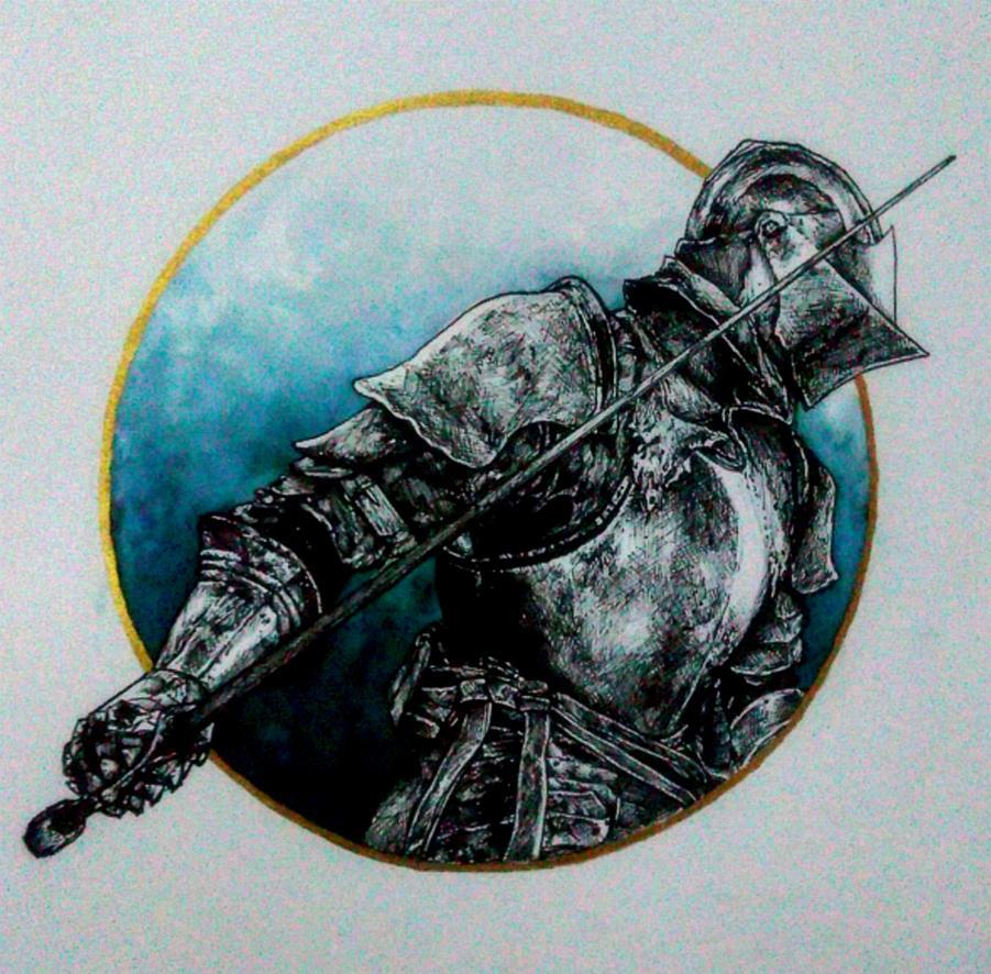 Dark Souls knight by Lauryn-M