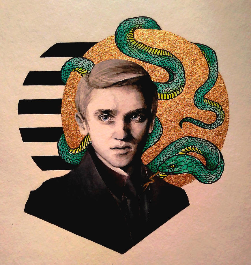 Mr. Malfoy by Lauryn-M