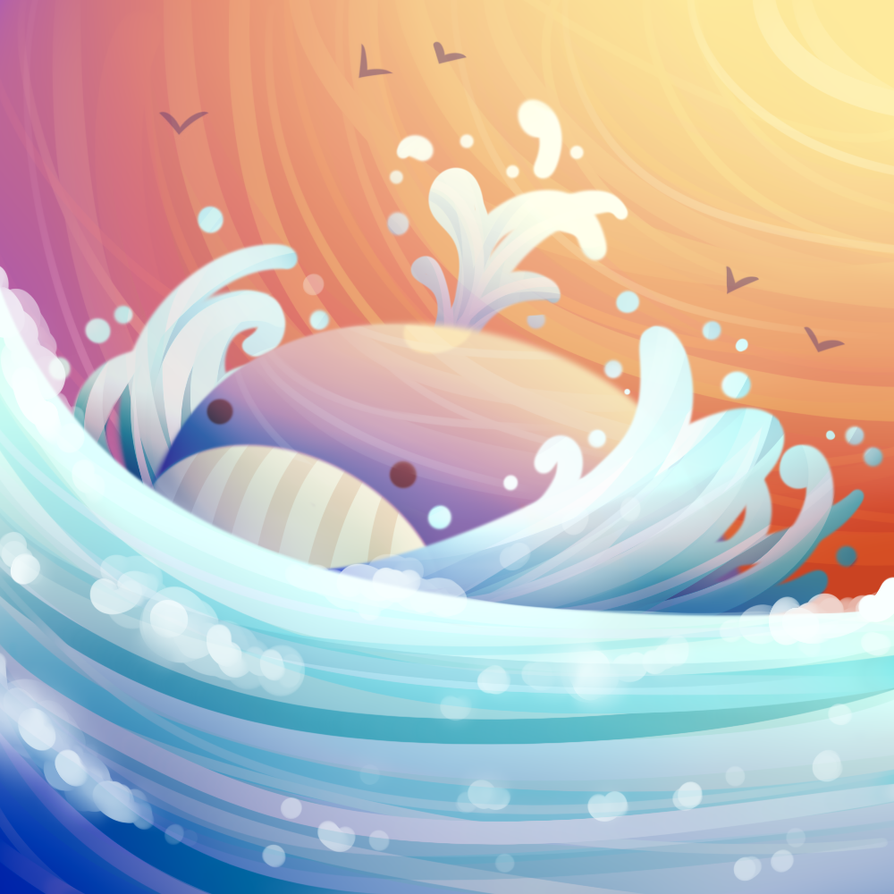 Wailord - King of the sea by Renz1521 on DeviantArt Wailord Wallpaper